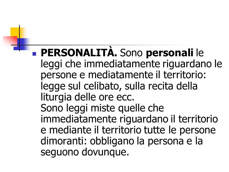 PERSONALITÀ.