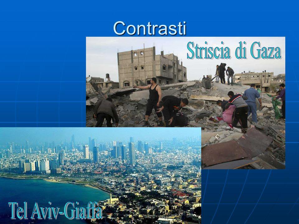 Contrasti Striscia di Gaza Tel Aviv-Giaffa