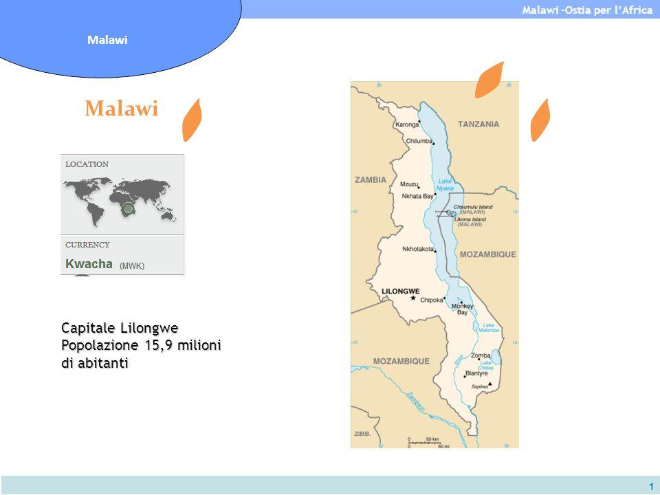 Malawi Capitale Lilongwe Popolazione 15,9 milioni di abitanti