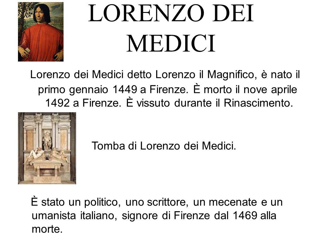 Tomba di Lorenzo dei Medici.