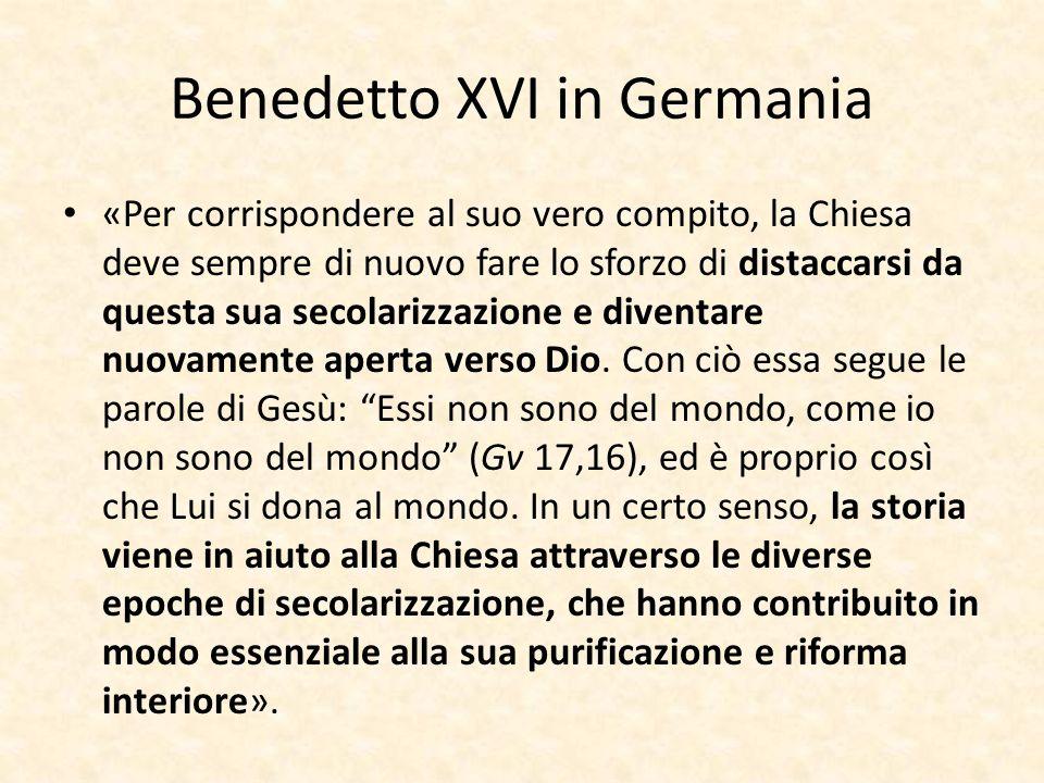 Benedetto XVI in Germania