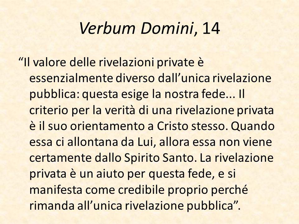 Verbum Domini, 14