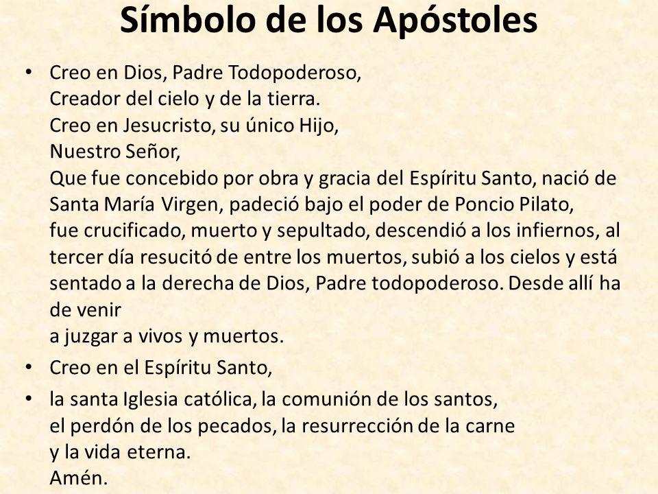 Símbolo de los Apóstoles