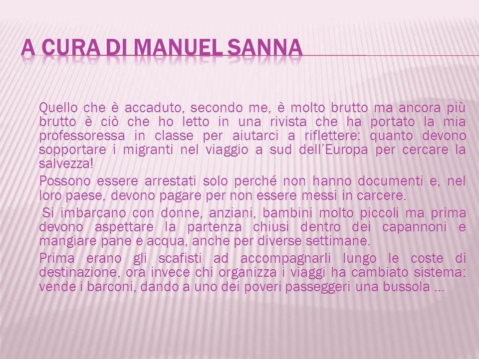 A cura di Manuel sanna