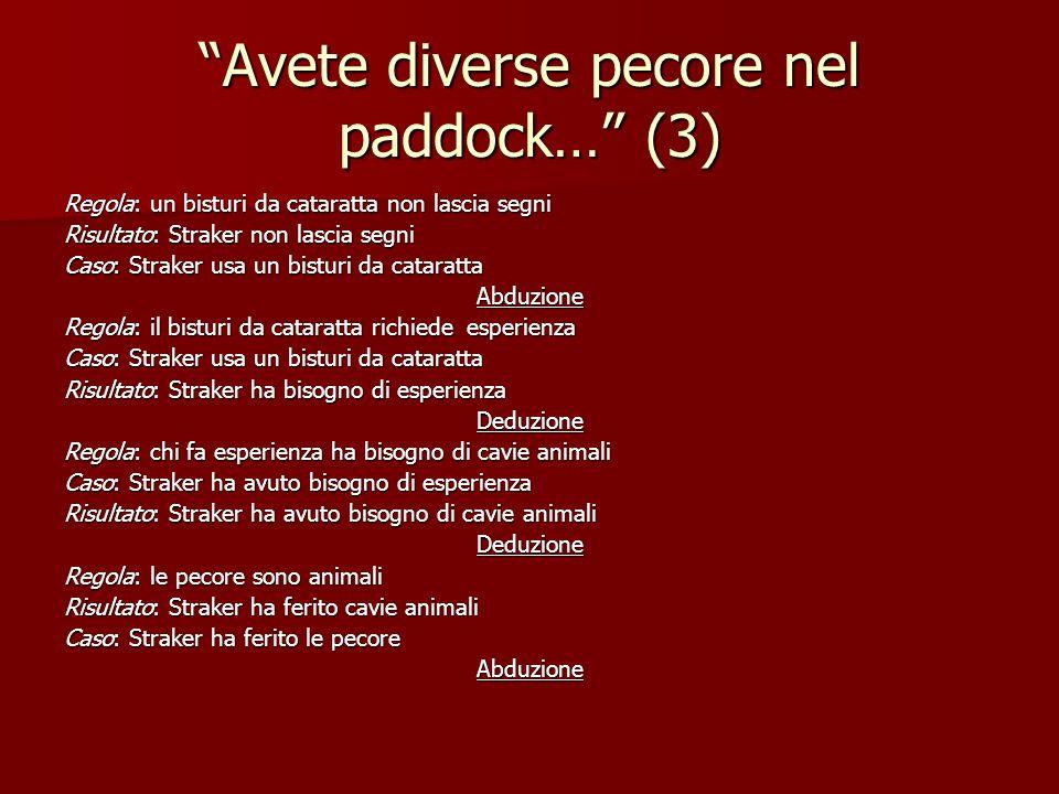 Avete diverse pecore nel paddock… (3)