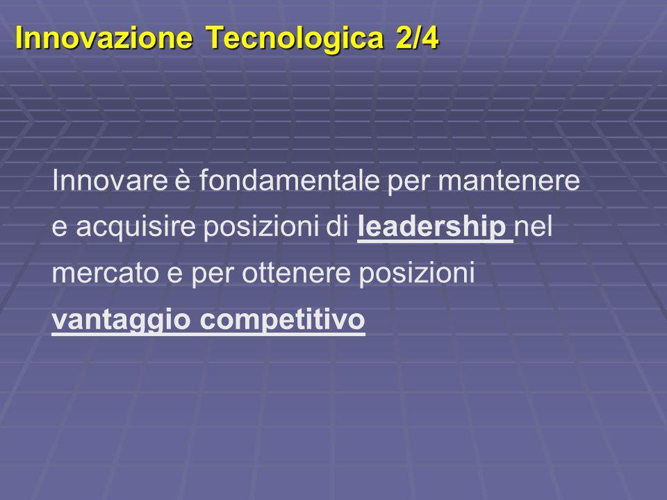 Innovazione Tecnologica 2/4