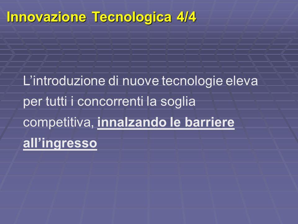 Innovazione Tecnologica 4/4