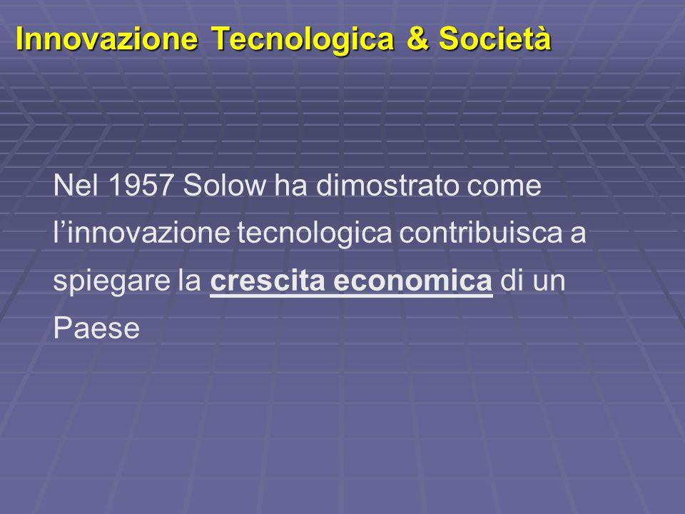 Innovazione Tecnologica & Società