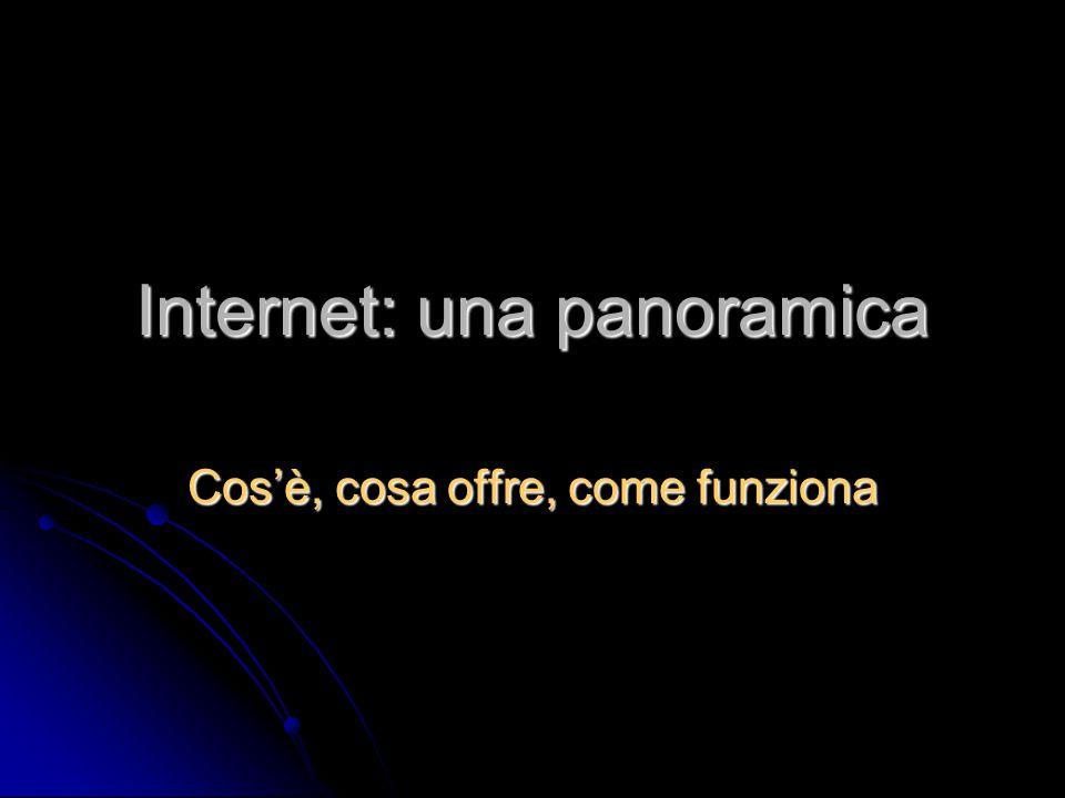Internet: una panoramica