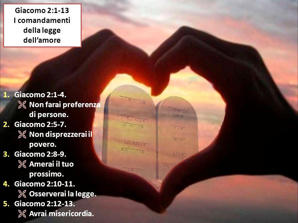 I comandamenti della legge dell'amore
