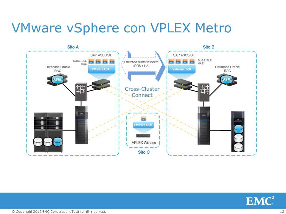 VMware vSphere con VPLEX Metro