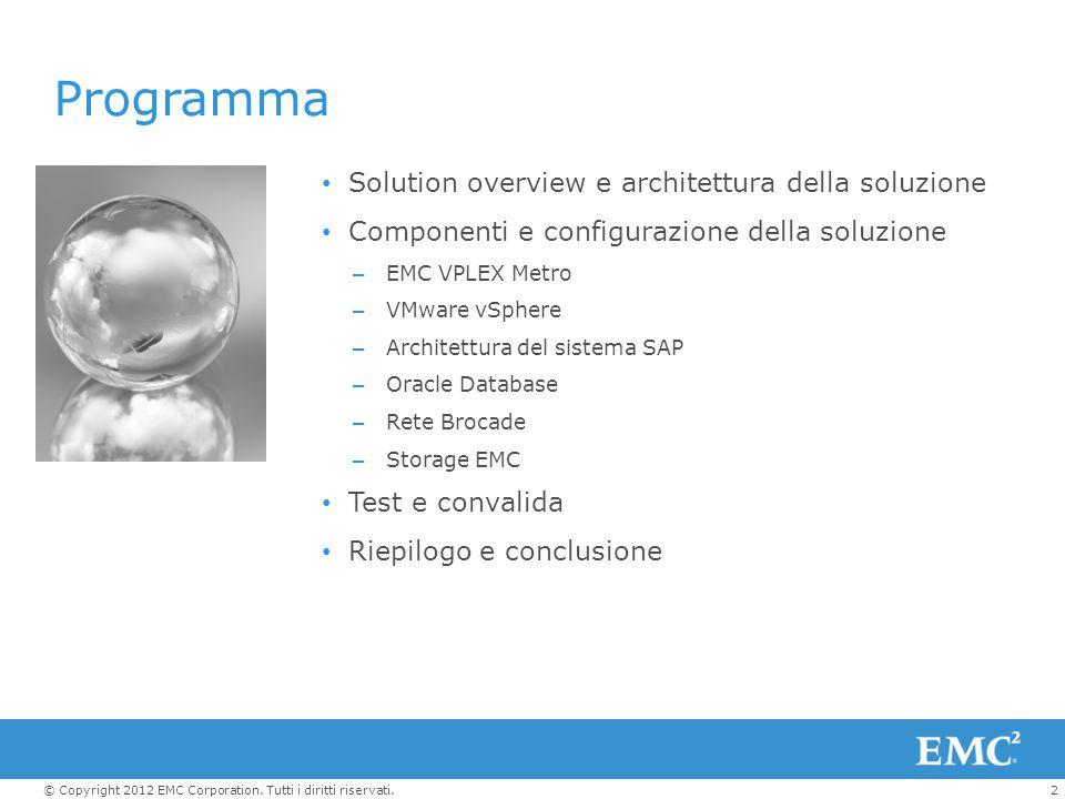Programma Solution overview e architettura della soluzione