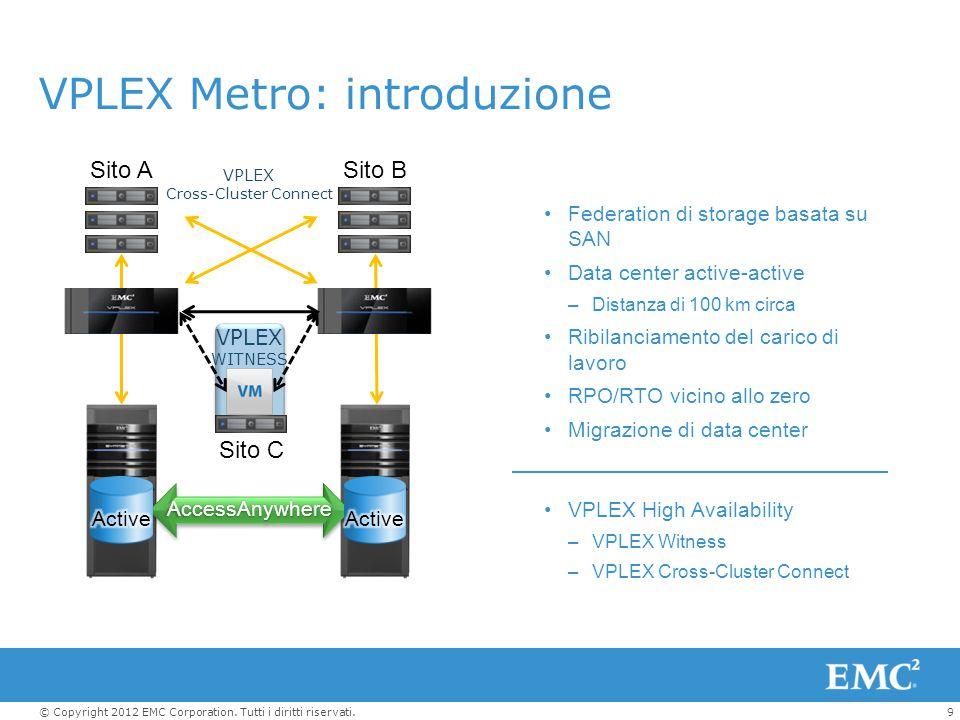 VPLEX Metro: introduzione