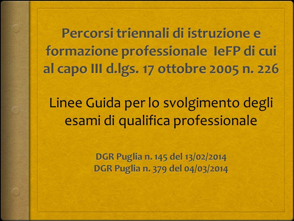 DGR Puglia n. 145 del 13/02/2014 DGR Puglia n. 379 del 04/03/2014