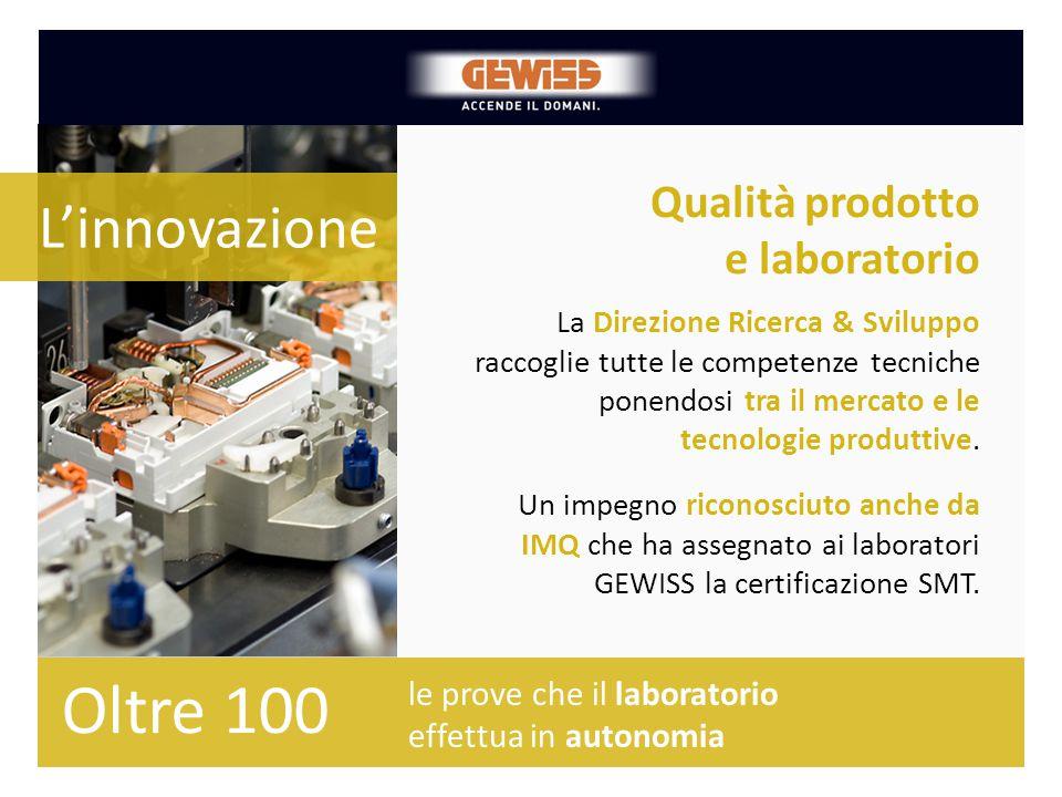 Qualità prodotto e laboratorio