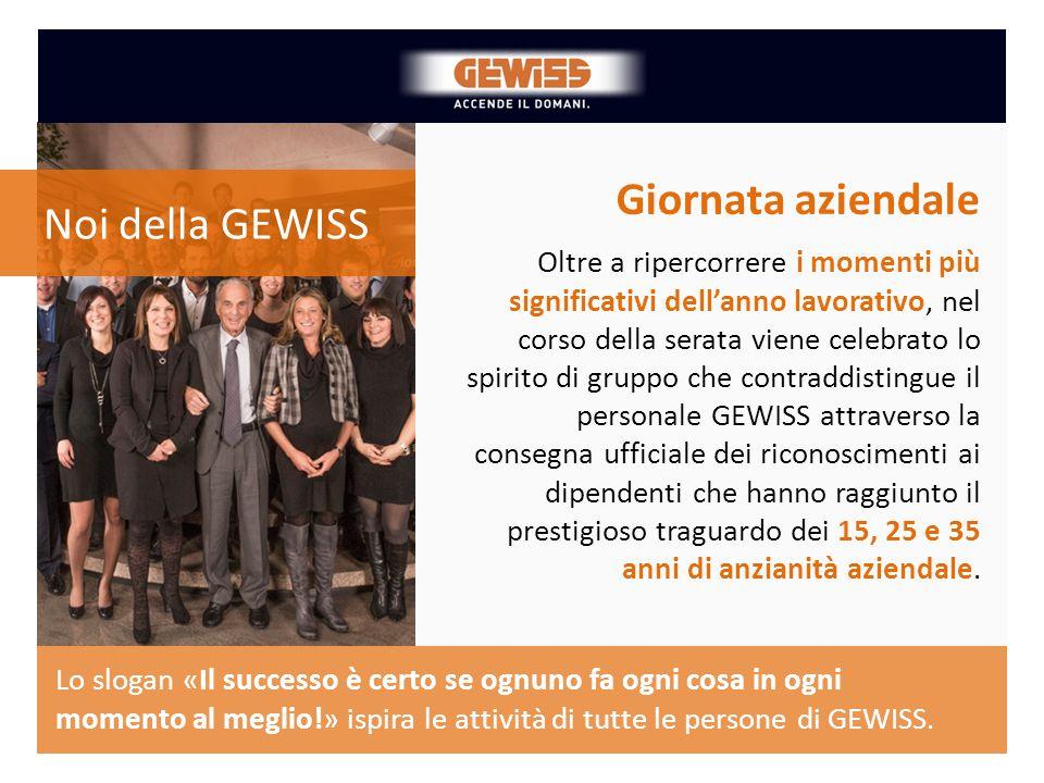 Giornata aziendale Noi della GEWISS