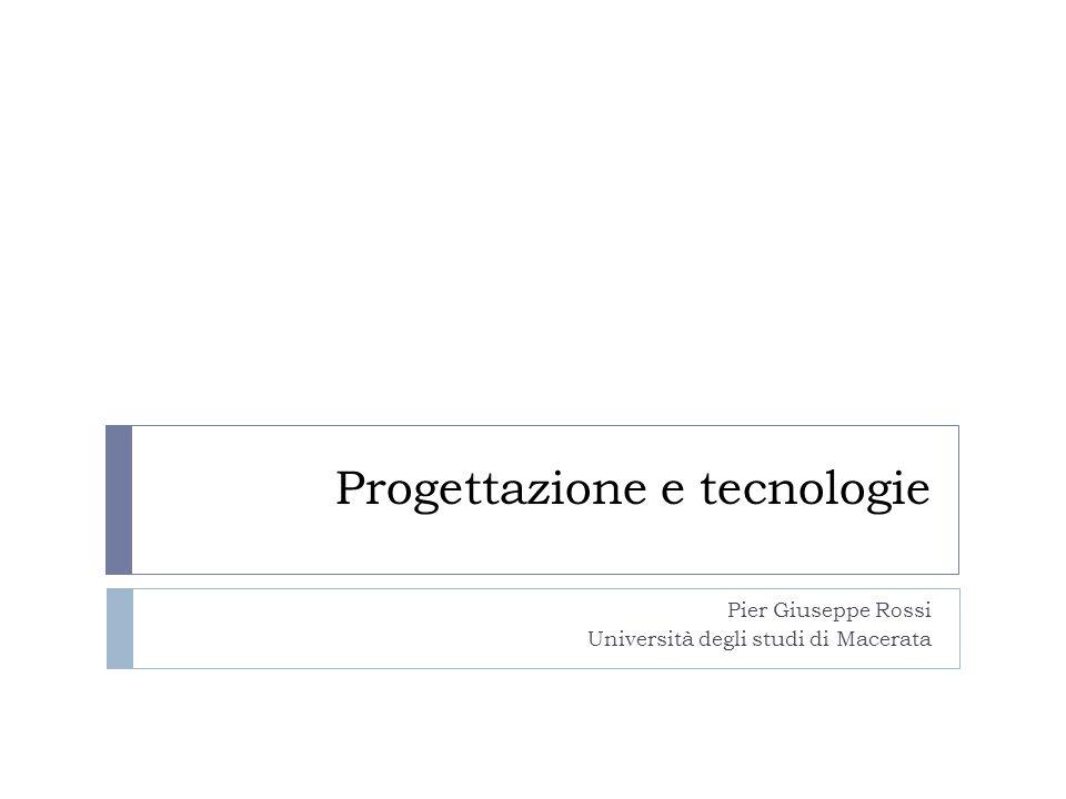 Progettazione e tecnologie