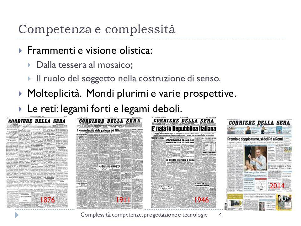 Competenza e complessità