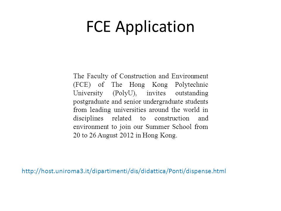 FCE Application