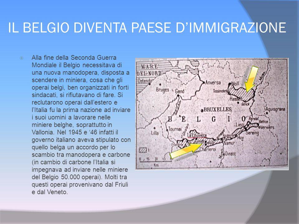 IL BELGIO DIVENTA PAESE D'IMMIGRAZIONE