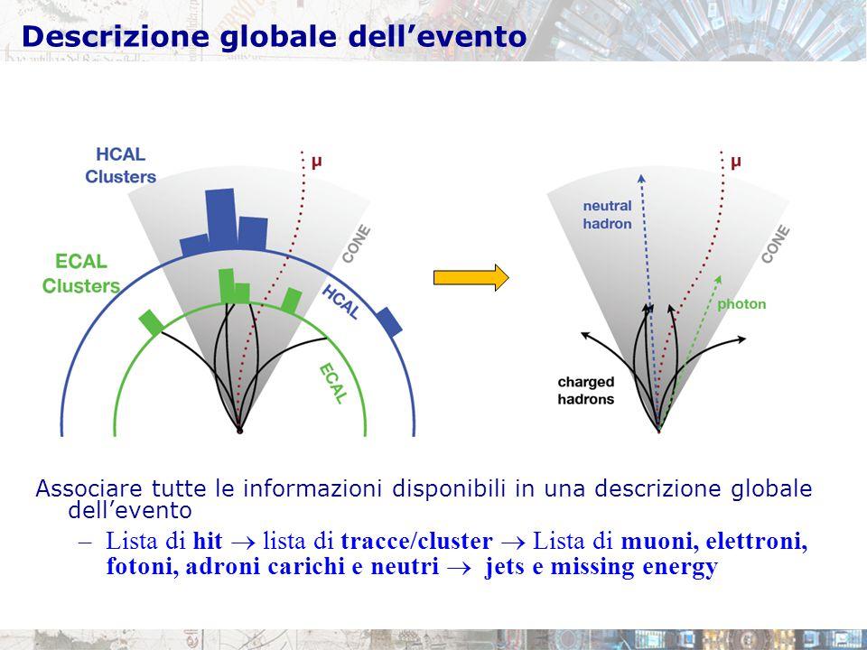 Descrizione globale dell'evento