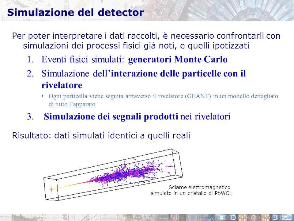 Simulazione del detector