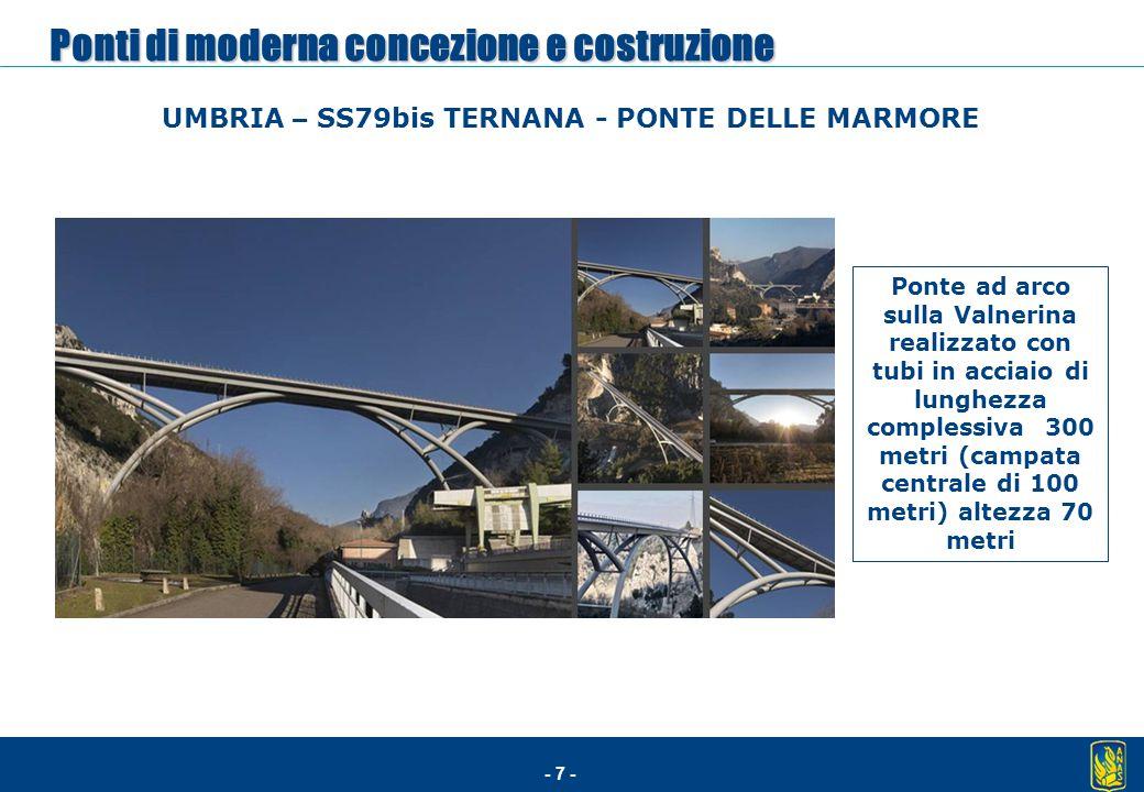Ponti di moderna concezione e costruzione