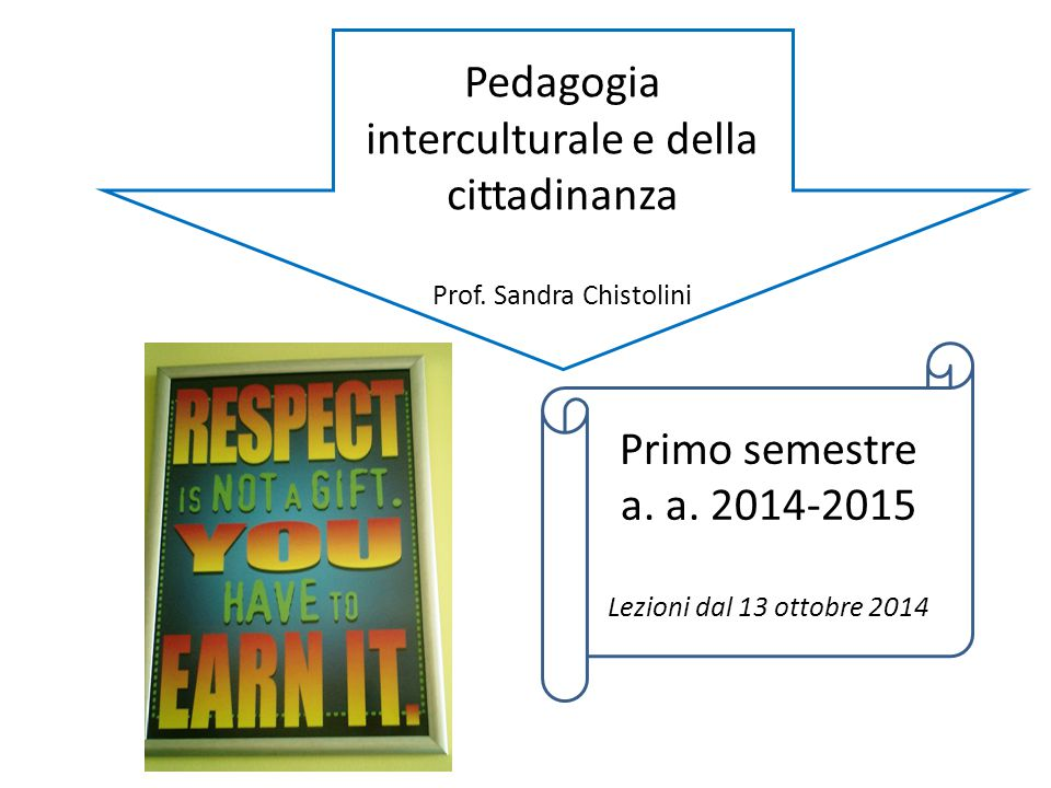 Pedagogia interculturale e della cittadinanza