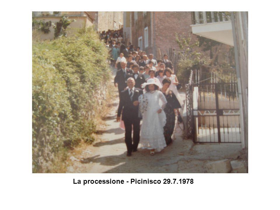 La processione - Picinisco 29.7.1978