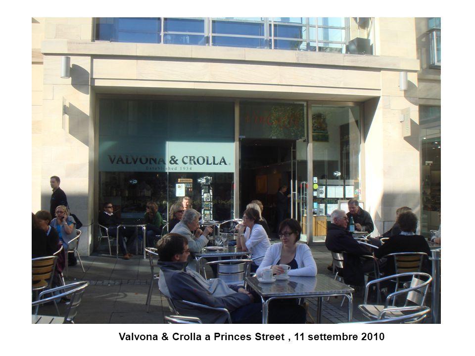 Valvona & Crolla a Princes Street , 11 settembre 2010