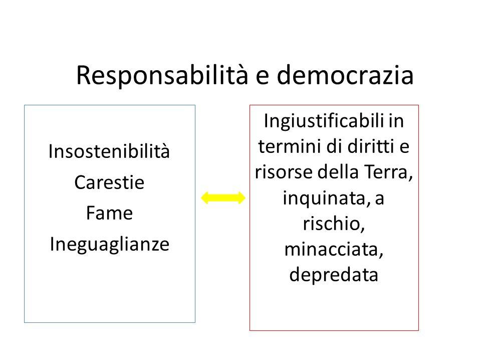 Responsabilità e democrazia