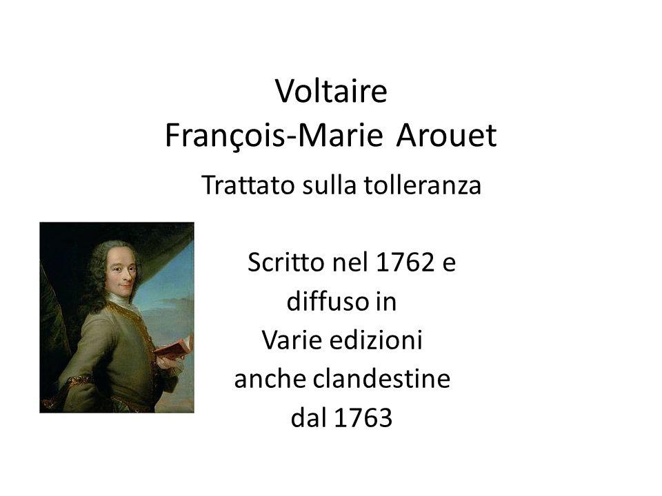 Voltaire François-Marie Arouet