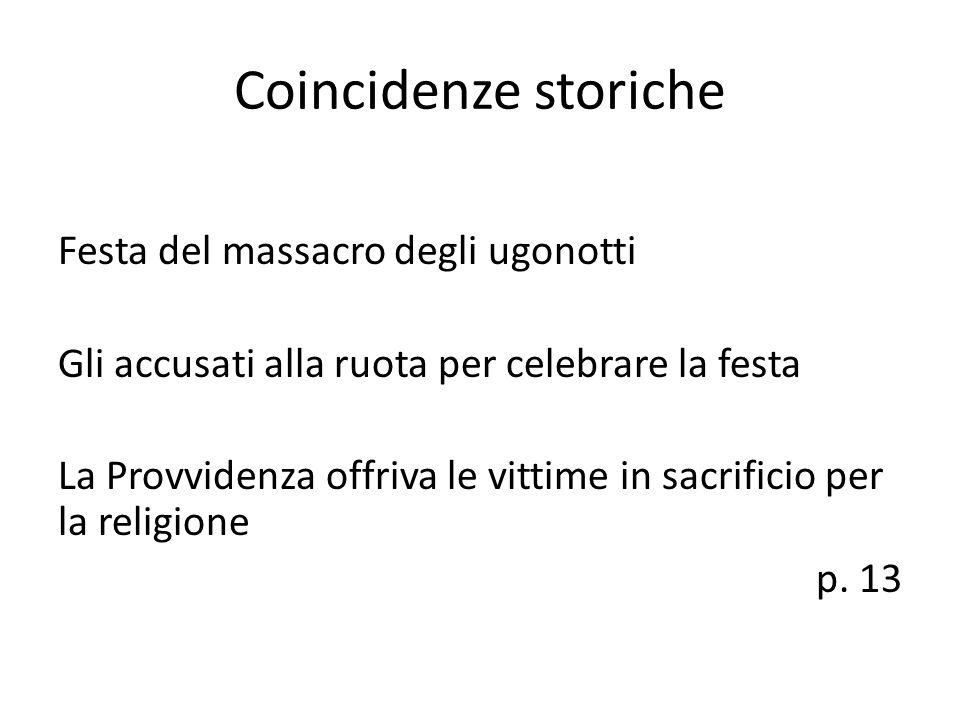 Coincidenze storiche