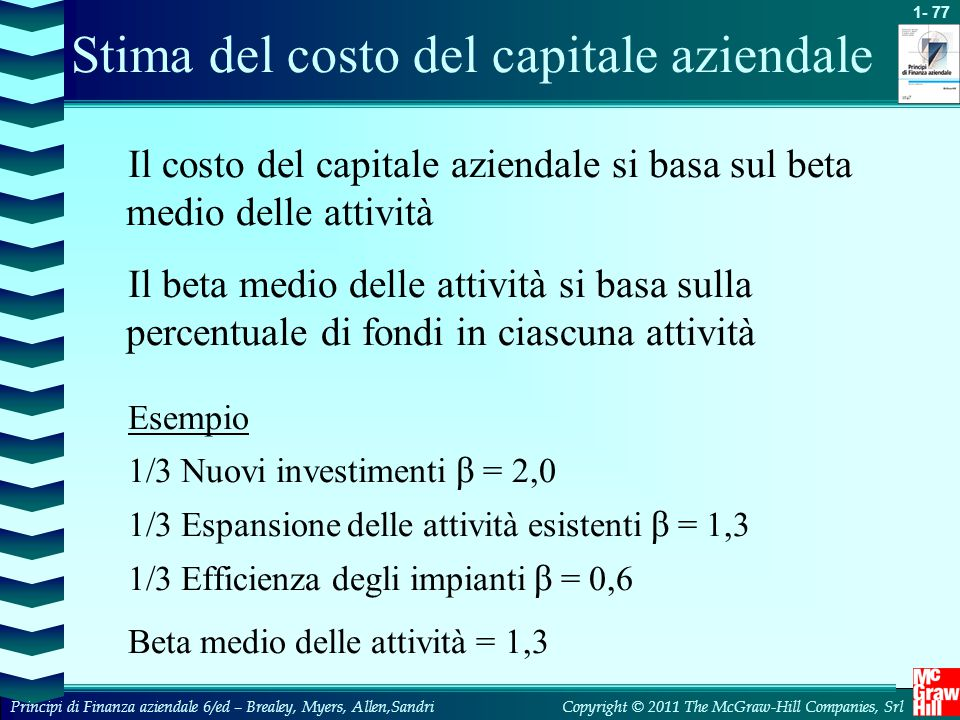 capitoli rischio rendimento e capital budgeting ppt