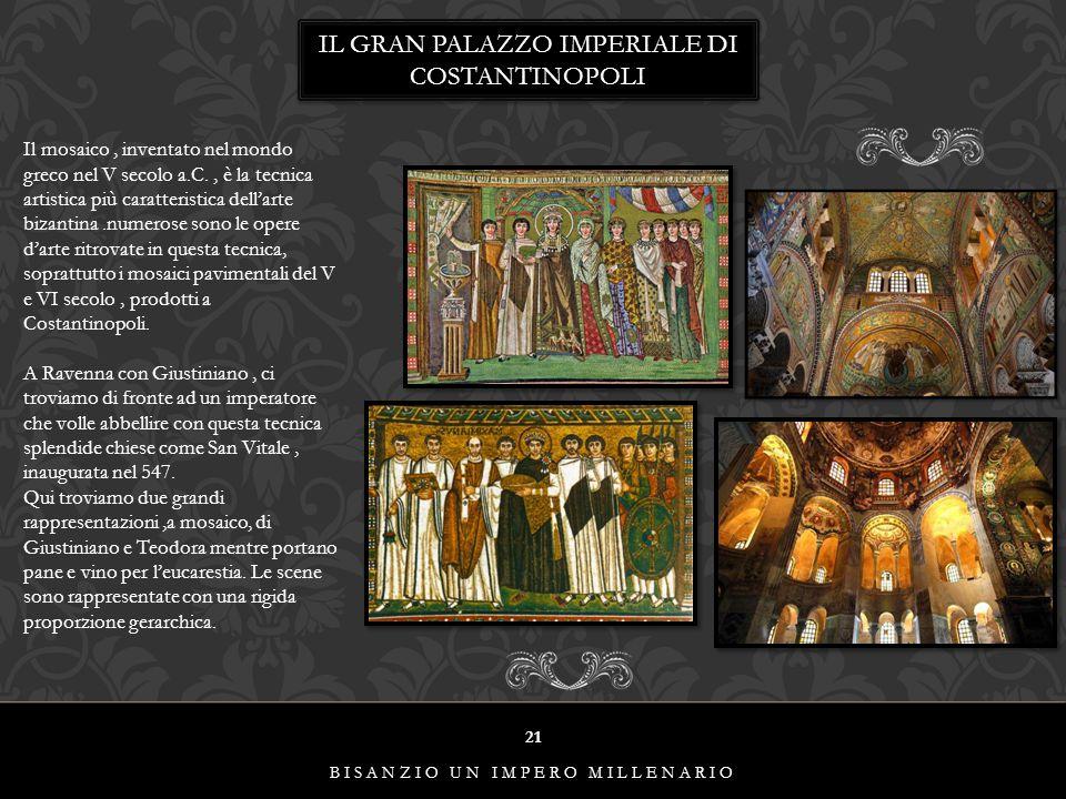 IL GRAN PALAZZO IMPERIALE DI COSTANTINOPOLI