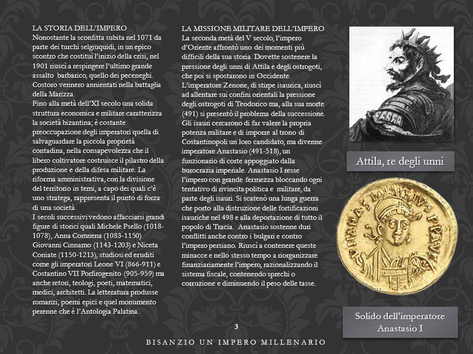 Attila, re degli unni Solido dell'imperatore Anastasio I