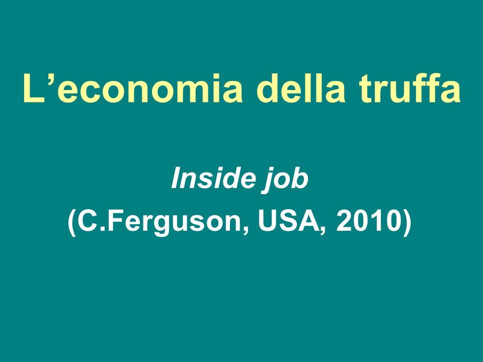 L'economia della truffa