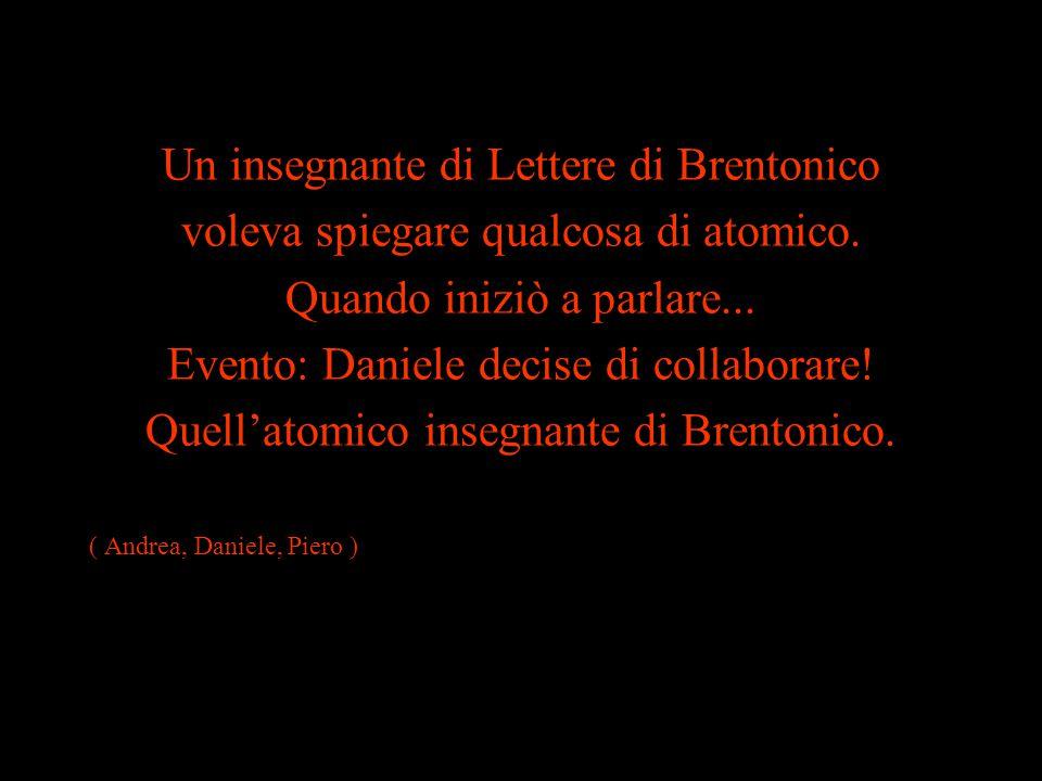 Un insegnante di Lettere di Brentonico