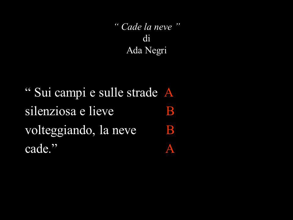 Cade la neve di Ada Negri
