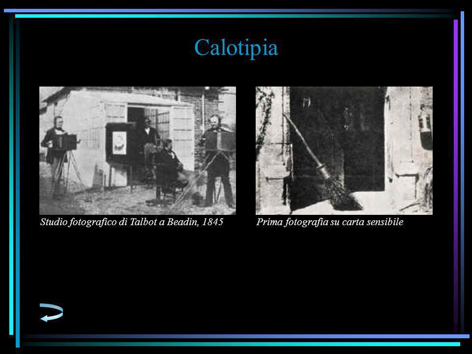 Calotipia Studio fotografico di Talbot a Beadin, 1845