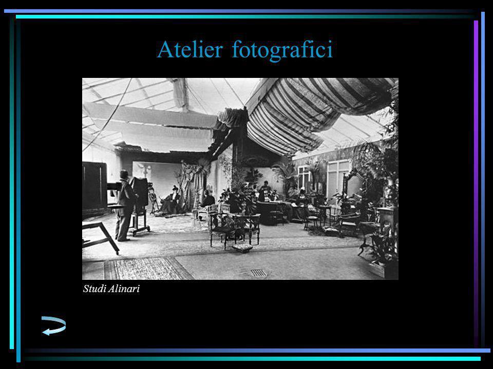 Atelier fotografici Studi Alinari