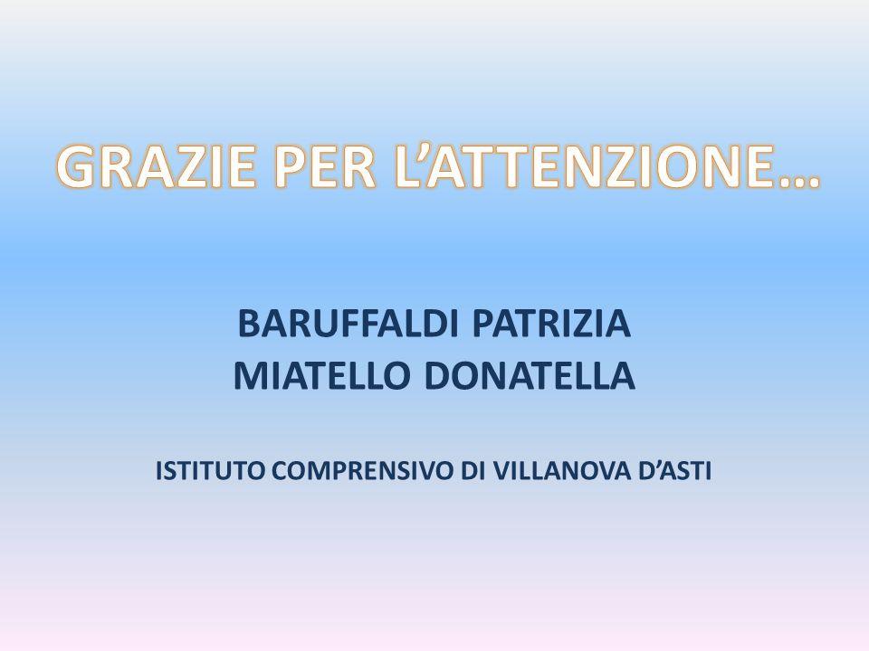 GRAZIE PER L'ATTENZIONE… ISTITUTO COMPRENSIVO DI VILLANOVA D'ASTI