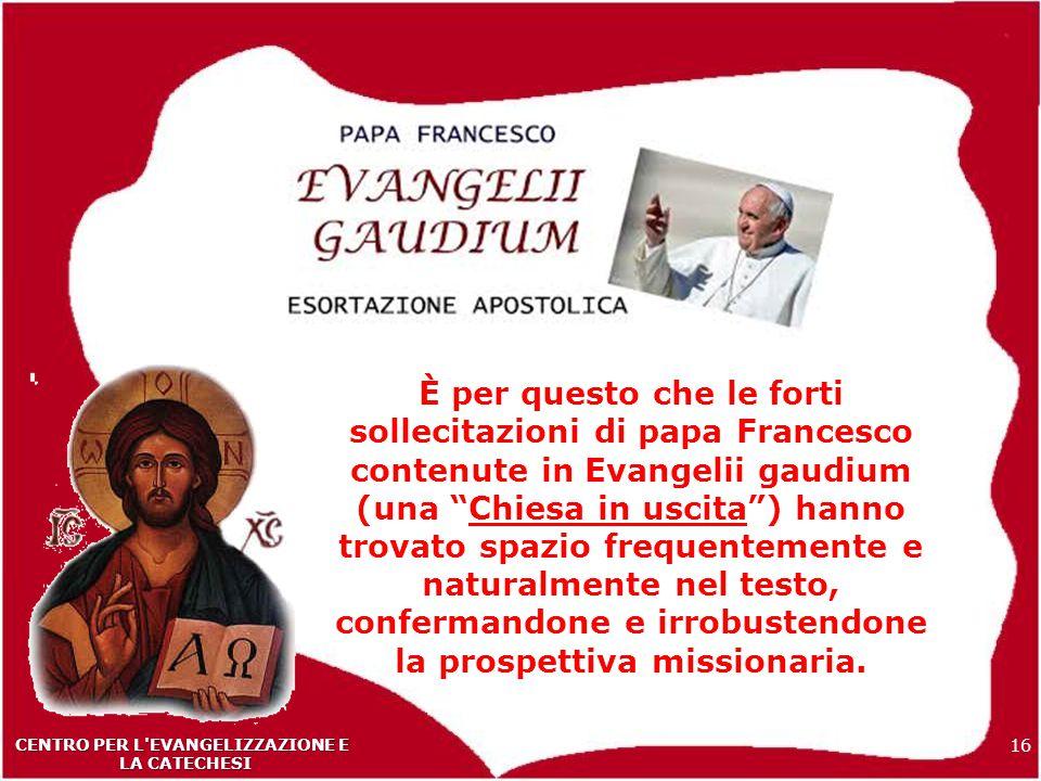 CENTRO PER L EVANGELIZZAZIONE E