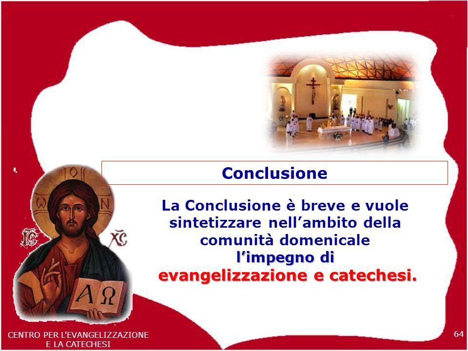 evangelizzazione e catechesi.