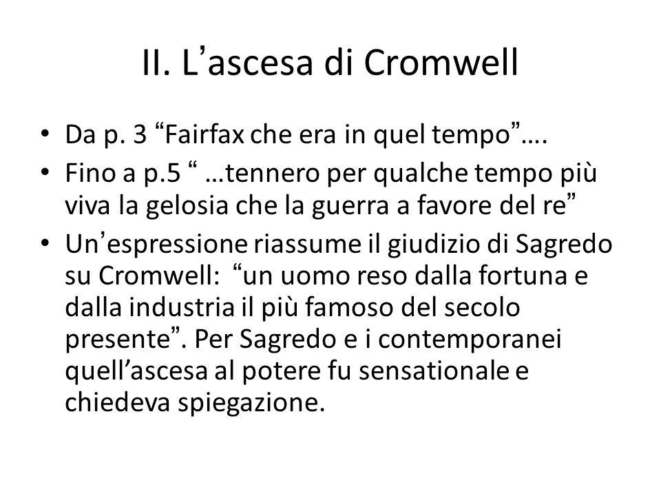 II. L'ascesa di Cromwell
