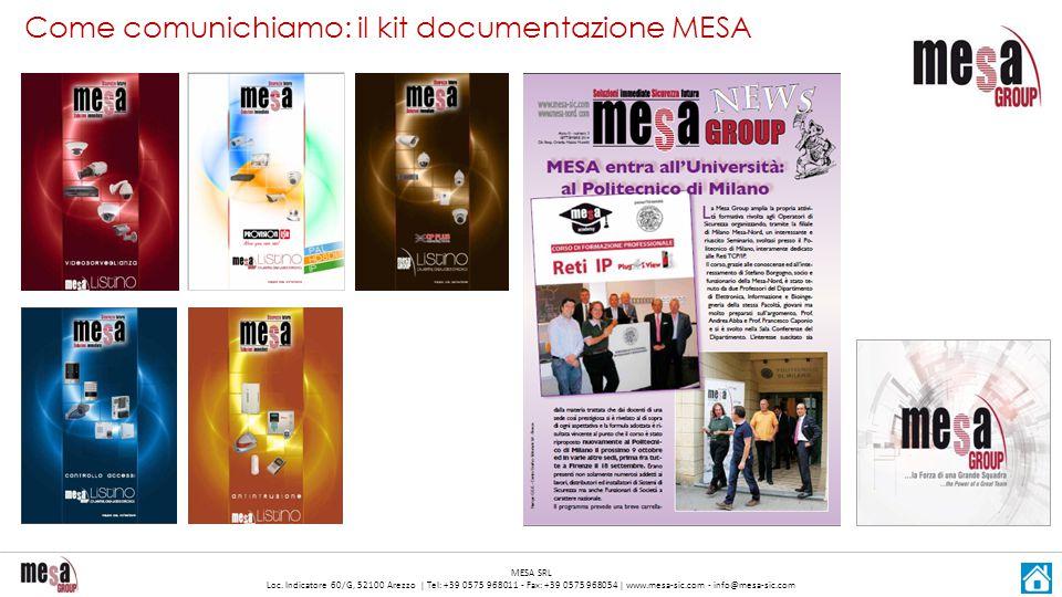 Come comunichiamo: il kit documentazione MESA