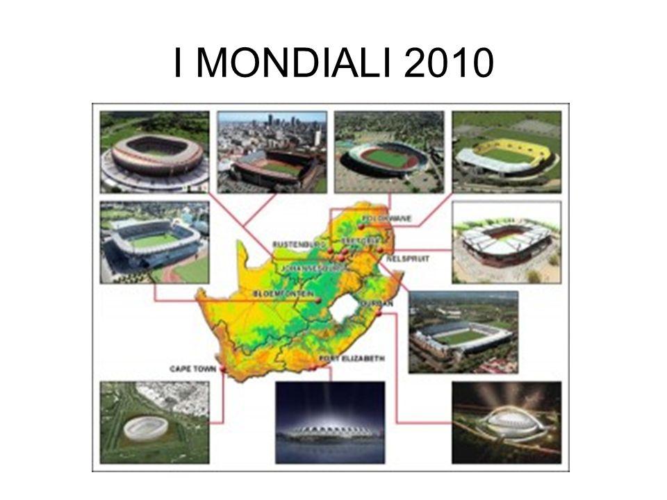 I MONDIALI 2010