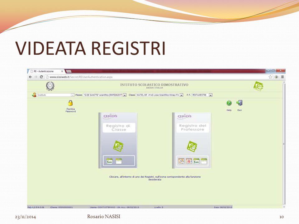 VIDEATA REGISTRI 07/04/2017 Rosario NASISI