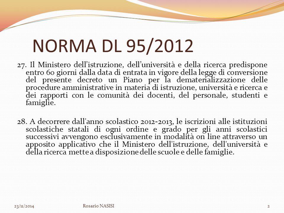 NORMA DL 95/2012