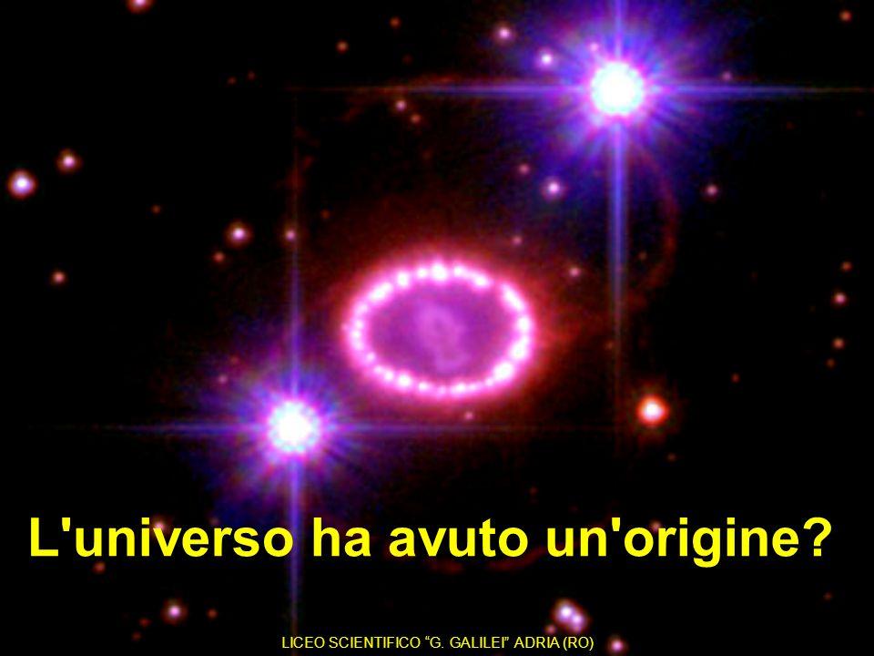 L universo ha avuto un origine